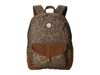 Roxy Carribean Floral Camo Backpack Bags White