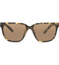 3.1 Phillip Lim Pl85 Tortoise Shell Square Sunglasses Tortoise And Gold