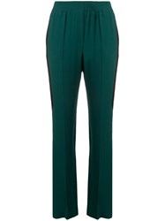 Givenchy Elasticated Waist Trousers Green