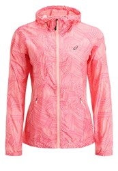 Asics Sports Jacket Brush Peach Pink