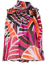 Emilio Pucci Abstract Print Top 60