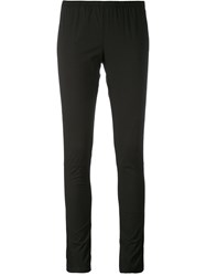 Kristensen Du Nord Slim Fit Leggings Women Cotton Spandex Elastane 0 Black
