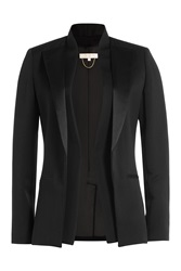 Vanessa Bruno Wool Silk Blazer Black