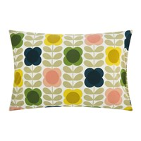 Orla Kiely Summer Flower Stem Pillowcase Multi Set Of 2