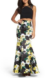 Xscape Evenings Women's Two Piece Gown