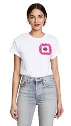 Michaela Buerger Strawberry Patch Tee White