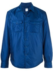 Aspesi Shirt Jacket Blue
