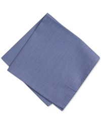 Bar Iii Men's Smokey Blue Solid Pocket Square Only At Macy's