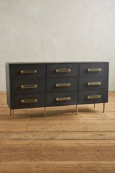 Anthropologie Odetta Nine Drawer Dresser Navy