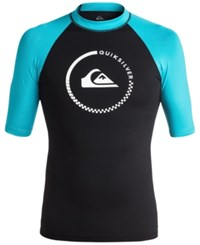 Quiksilver Men's Short Sleeve Graphic Swimsuit Shirt Xbbk Scuba
