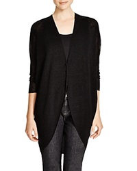 Eileen Fisher Cocoon Long Cardigan Black
