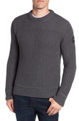 Canada Goose Galloway Merino Wool Sweater Iron Grey