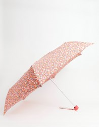 Cath Kidston Meadow Ditsy Print Umbrella Red Floral