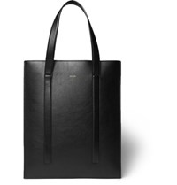 Paul Smith Leather Tote Bag Black