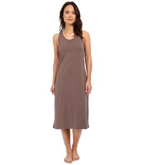 Jockey 47 Cotton Racerback Gown Truffle Women's Pajama Brown