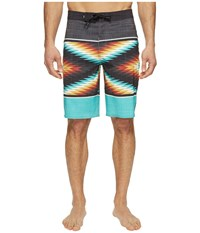 Vans Nf Into Oblivion Stretch Boardshorts Baltic Men's Swimwear Blue