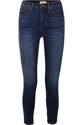 Madewell High Rise Skinny Jeans Mid Denim
