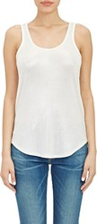 Atm Anthony Thomas Melillo Sweetheart Sparkle Tank White