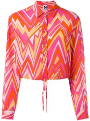 M Missoni Geometric Print Shirt