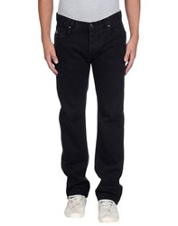 Pierre Balmain Denim Denim Trousers Men Black