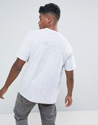 Antioch Oversized Towelling T Shirt Grey