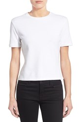 Women's J Brand Ready To Wear 'Lake' Tee White
