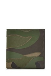 Valentino Camouflage Wallet With Leather