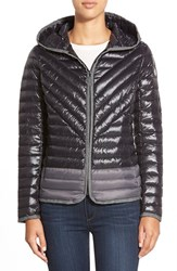 Women's Kensie Hooded Packable Down Jacket Black