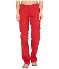 Kuhl Kontra Cargo Pants Cherry Women's Casual Pants Red