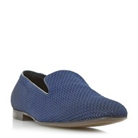Dune Royal Slipper Cut Loafer Navy