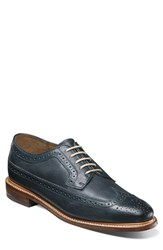 Florsheim Men's 'Heritage' Wingtip Navy Leather