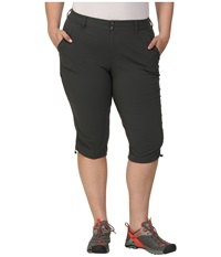 Columbia Plus Size Saturday Trail Ii Knee Pant Grill Women's Capri Gray