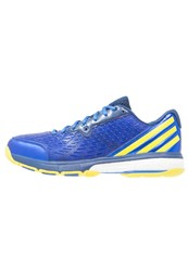 Adidas Performance Energy Volley Boost 2.0 Volleyball Shoes Mystery Blue Bright Yellow Blue Dark Blue