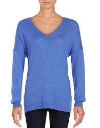 Lord And Taylor Mini Cable Knit Top Light Peri
