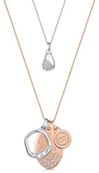 Infinity And Co Elizabeth Pendant Duo Rose Gold