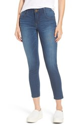 Wit And Wisdom Ab Solution Ankle Skimmer Jeans Blue