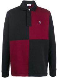 Tommy Hilfiger Checked Polo Shirt Black
