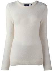 Woolrich Fine Knit Jumper White