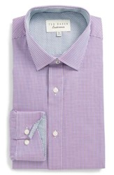 Ted Baker Big And Tall London Endurance Trim Fit Pink