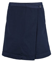 Marc O'polo Wrap Skirt Dusk Blue Dark Blue