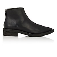 Marsell Women's Back Zip Ankle Boots Black Blue Black Blue