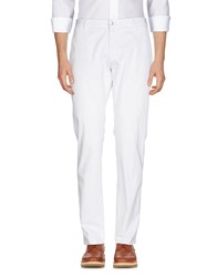 Hydrogen Casual Pants White