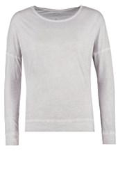 Replay Long Sleeved Top Washed Grey