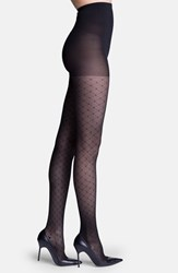 Insignia By Sigvaris Women's 'Starlet' Diamond Pattern Compression Pantyhose