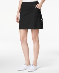 Styleandco. Style And Co. Petite Pull On Skort Only At Macy's Deep Black