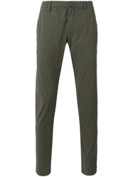 Dondup Tapered Trousers Green