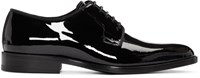 Saint Laurent Black Patent Leather Dylan Derbys