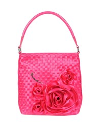Braccialini Medium Fabric Bags Fuchsia
