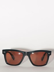 Oliver Peoples Lvr Exclusive Rectangular Sunglasses Black