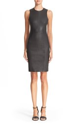 Alexander Wang Women's T By Stretch Nappa Leather Sheath Dress